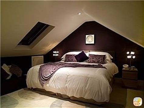 the eggplant color attic bedroom home sweet home
