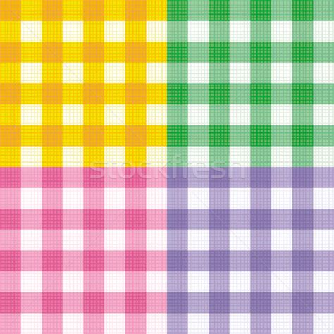 pattern purple and yellow green pink yellow and purple gingham seamless repeat