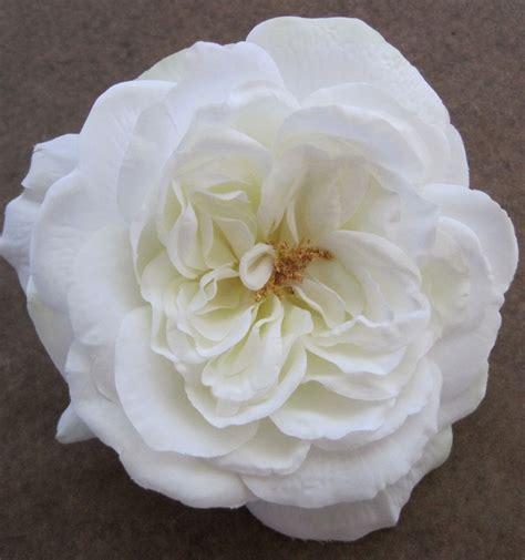 large 5 1 2 quot silk flower brooch pin bridal