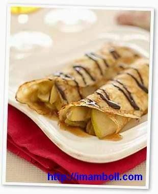 membuat kue leker dalam sekejap resep dan cara membuat kue leker crepes yang enak