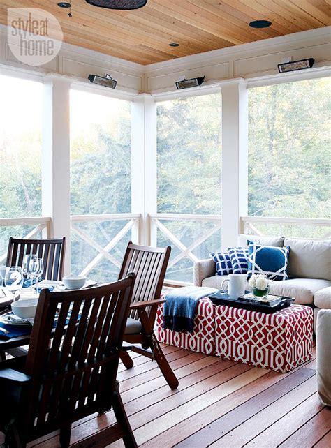 Design For Screened Porch Furniture Ideas Coastal Muskoka Living Interior Design Ideas Home Bunch Interior Design Ideas