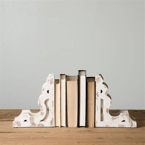 book end white corbel book ends magnolia market chip joanna