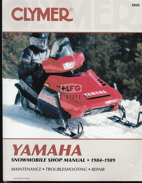 85 yamaha enticer snowmobile engine wiring diagram yamaha