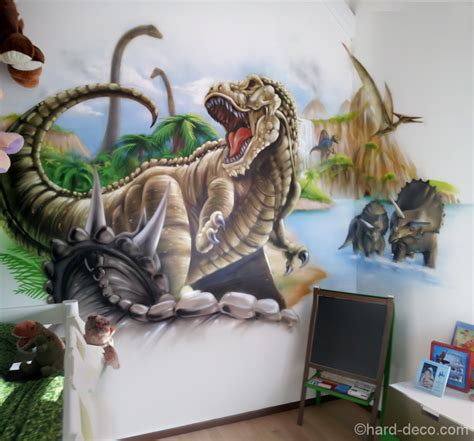 decoration chambre dinosaure visuel 5