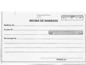 ejemplos de un recibo de dinero fotos de documentos mercantiles