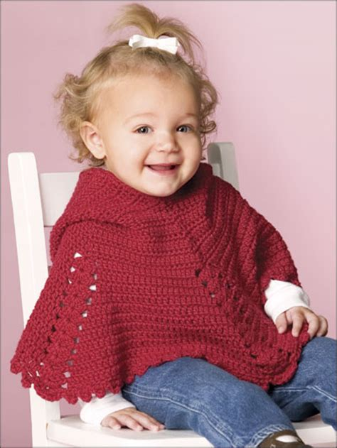 free knitting pattern baby poncho child poncho patterns 171 free patterns
