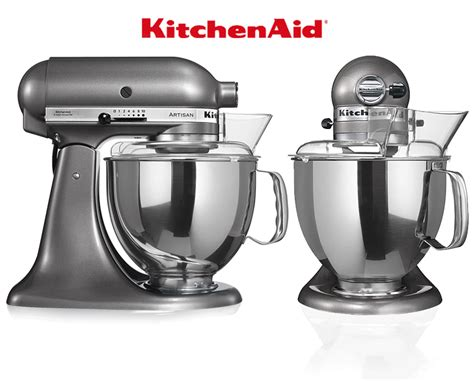 Excellence 8117ms Silver Original kitchenaid artisan stand mixer set 2 contour silver ka