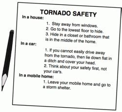 Safety Tornadoes Tornado Safety Plan Template