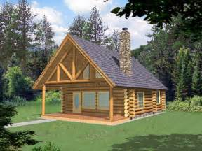 frisco pass log cabin home plan 088d 0355 house plans and more