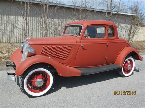 Ford Rod by 1933 Ford 5w Coupe Project Car Rod For Sale
