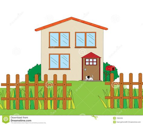 house drawing stock images royalty free images vectors house illustration stock illustration illustration of