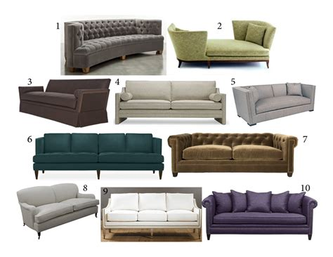 Top 10 Sofas by Shed The Tunie S Top 10 Sofas