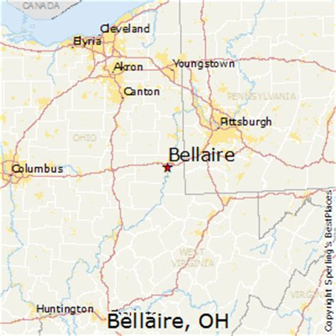 best places to live in bellaire ohio
