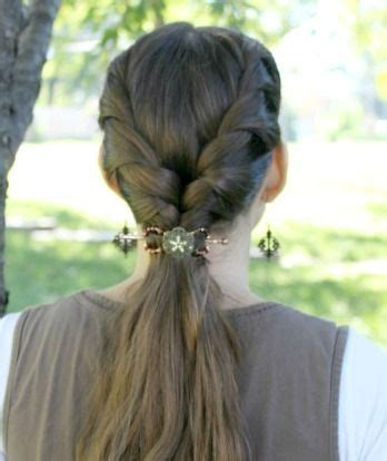tutorial rambut french twist french twist with flexi clip for fall tutorial hairstyle