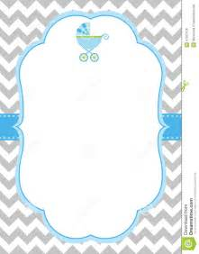 Baby Shower Templates For Boy by Best Photos Of Boy Templates Free Boy Baby Shower Blank