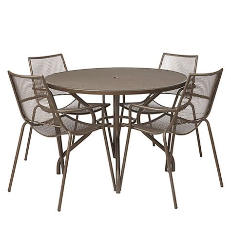 Outdoor Dining Sets Lewis Buy Lewis Ala Mesh 4 Seater Table Chairs Dining Set