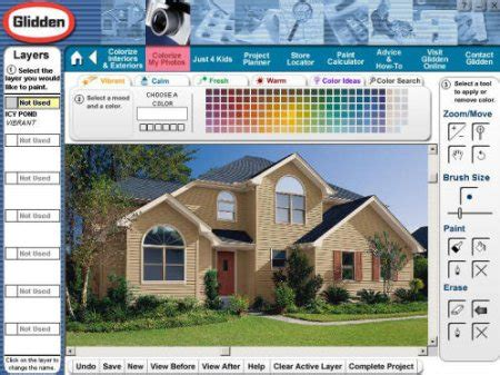 free virtual exterior house painter exterior house painting software