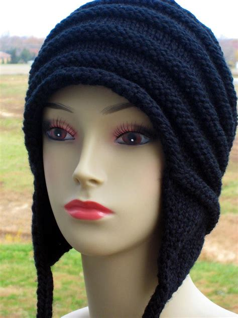 knit hat with ear flaps knitting hats tag hats