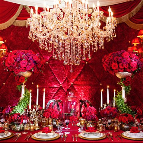 Wedding House And Concept by Decor And The Beast Inspired Grand Reception