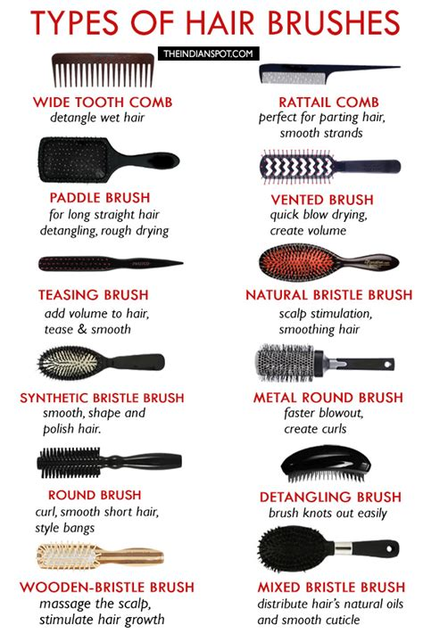 Different Types Of Hair Salons by Types Of Hair Brushes How To Choose The Best Hair Brush