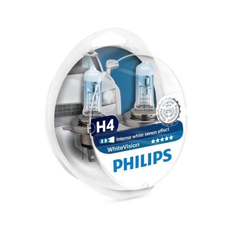 Lu Philips Premium H4 philips whitevision h4 gl 252 hle mit wei 223 em xenon effekt 2 st 252 ck jetzt bestellen a t u auto