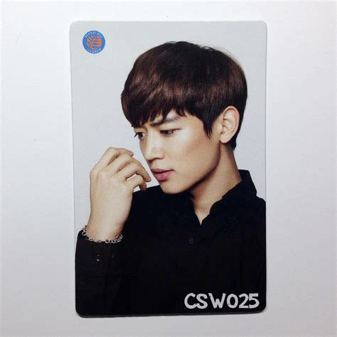 Minho White shinee the saem photocard ღjewelgyu shopღ