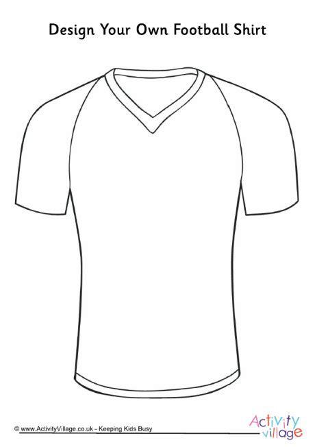 design a football shirt template design your own football shirt