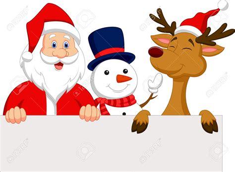santa and snowman clipart - Clipground Free Clip Art Santa And Reindeer