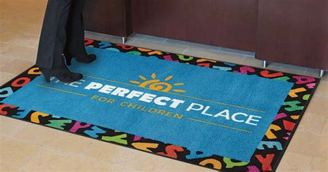 Custom Mats For Business by Personalized Business Carpets Meze