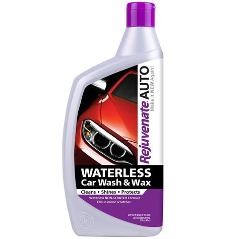 Klins Waterless Car Wash 1 rejuvenate auto waterless car wash and wax rj32wcw the home depot