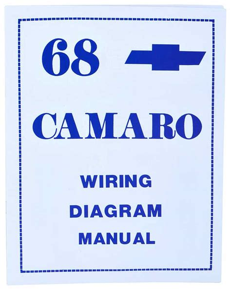 1968 chevrolet camaro parts literature multimedia