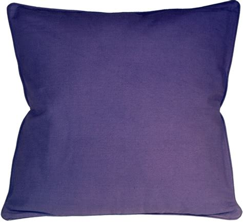26x26 Throw Pillows by Ribbed Cotton Lilac 26x26 Throw Pillow From Pillow Decor