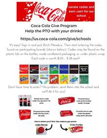 birch meadow elementary coca cola gives