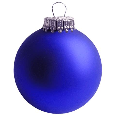 blue christmas bauble transparent background