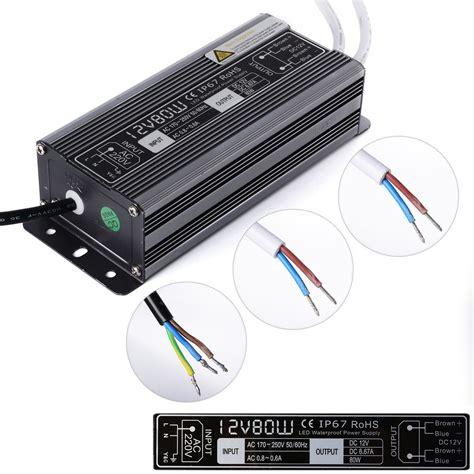 Waterproof Led Power Supply waterproof led power supply transformer dc 12v 24v 20w 30w