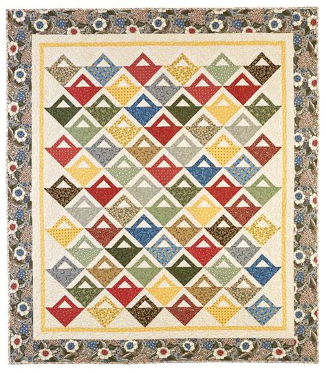 quilt pattern companies fat quarter baskets quilts fons porter the quilting