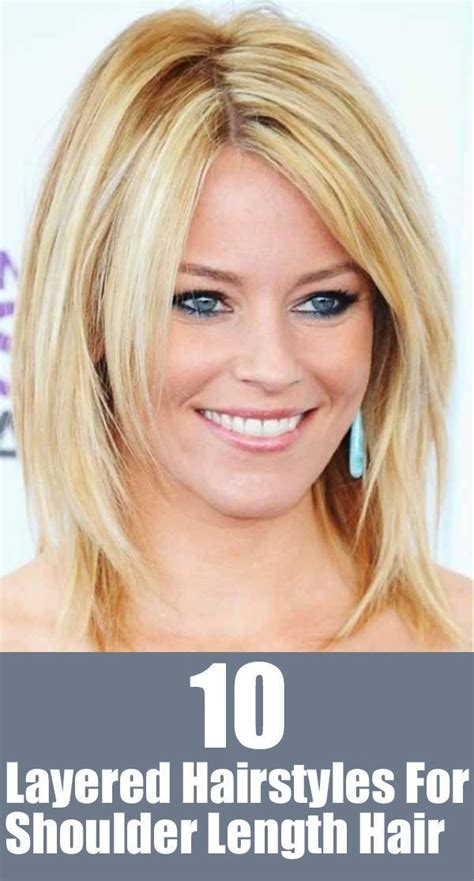 20 great shoulder length layered hairstyles haircuts