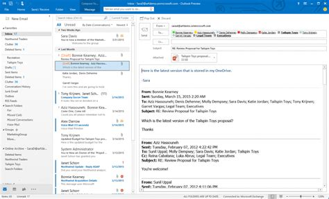 Outlook Search In Email Microsoft Launches Office 2016 Consumer Preview Pushing Universal Apps To Windows