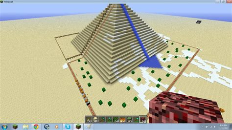 pyramid craft project pyramid minecraft project