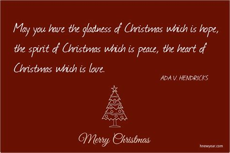 short inspirational christmas wishes sayings