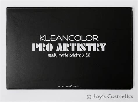 Kleancolor Pro Artistry Madly Matte Palette 1 kleancolor matte and shimmer eyeshadow set quot gs1458