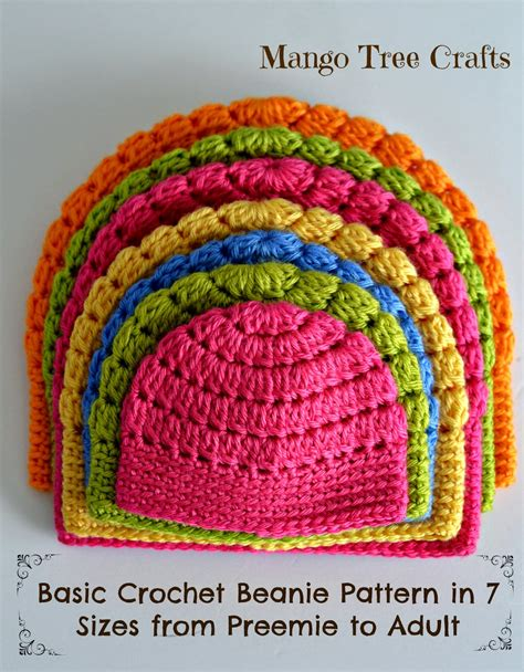 free crochet pattern websites free pattern this basic beanie pattern is simply awesome