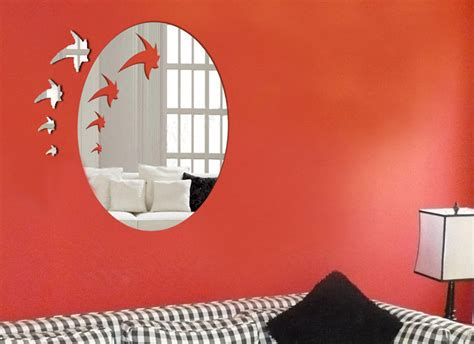 china decorative wall mirror sticker kxqj jf001 china sticker wall sticker