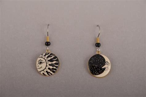 moon earrings 187 sun moon earrings burbeck s jewelry