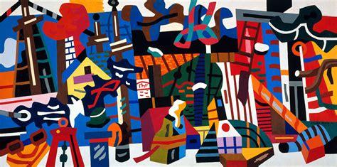 Stuart Davis Swing Landscape creativity visible thinking movement and landscapes