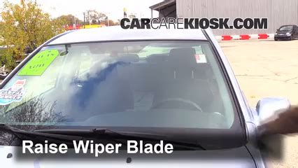 vehicle repair manual 2006 toyota matrix windshield wipe control front wiper blade change toyota matrix 2003 2008 2006 toyota matrix 1 8l 4 cyl