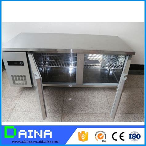 under bench drawer fridge stainless steel drawer fridge workbench cooler under