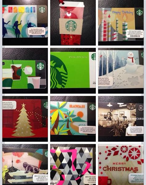 Starbucks Gift Cards Collection - 58 best starbucks cards images on pinterest starbucks gift cards and card designs