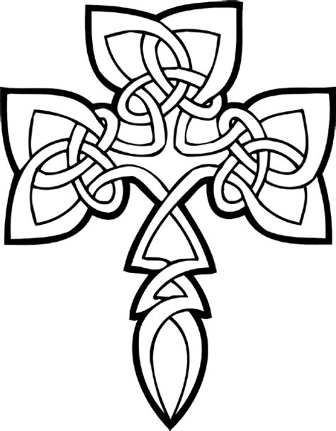 coloring pages of crosses with roses 6 best images of cross and roses coloring pages printable