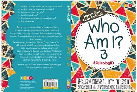 Buku Psikologi Kepribadian Drssumadi Suryabrata buku psikologi who am i 3 psikologid pidbooks3 tokokoleksi tokokoleksi